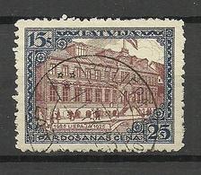 LETTLAND Latvia 1925 Michel 108 A O Liepaja - Lettland