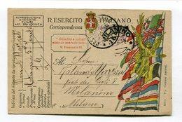 CPA Militaria : Franchigia Militare Guerra 14-18  A    VOIR  !!! - Guerre 1914-18
