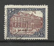 LETTLAND Latvia 1925 Michel 108 A O Liepaja - Lettonia