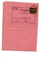 Affranchissement Sur Avis De Réception 1917-Semeuse - Voir état - Marcophilie (Lettres)