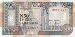 Somalie - Billet De 50 Shilin - 1991 - Neuf - Somalia