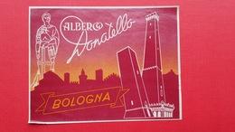 Albergo Donatello.BOLOGNA - Publicités