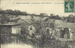 6917 CPA Rosny Sous Bois -  Les Carrières - Rue Rochebrune - Rosny Sous Bois