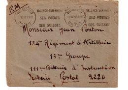 Affranchissement De 1939-FM- Voir état - Guerres