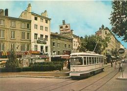 St Etienne - Place Du Peuple Et Tramway      U 1636 - Saint Etienne