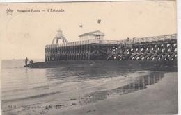 NIEUWPOORT / STAKETSEL MET VUURTOREN EN BUVETTE  1911 - Nieuwpoort