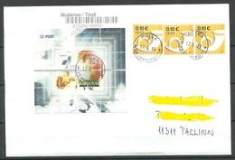 ESTLAND ESTONIA 2019 O PÕLVA Inlandbrief Domestic Letter - Estonia
