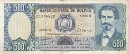 Bolivie - Billet De 500 Bolivianos - Avaroa - 1er Juin 1981 - Bolivia
