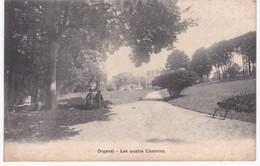 78  Yvelines -  ORGEVAL -  Les Quatre Chemins - 1904 - Orgeval