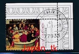 GERMANY Mi.Nr. 3181 500. Geburtstag Von Lucas Cranach Dem Jüngeren  - Eckrand Oben Rechts - Used - Oblitérés