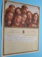 TELEGRAM Voor Fam. DE LAET / BUYTAERT Rupelmonde > Van De Roeck De Leger > 1959 Steendorp ! - Faire-part