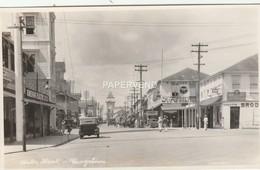 British Guiana  Water Street Photo  Bg359 - Postkaarten