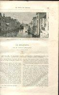 Camille LEMONNIER La Belgique  Le Tour Du Monde 1886 - Livres, BD, Revues