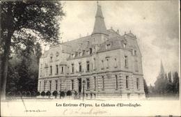 Cp Ypres Westflandern, Château D'Elverdinghe - Belgique