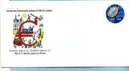 DEMAIN L'EURO - Entiers Postaux