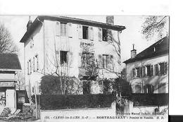 CAMBO LES BAINS  N 130   BORTHAGARAY   PENSION DE FAMILLE  GROS PLAN PERSONNAGES   DEPT 64 - Cambo-les-Bains