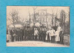Société Saint-Sébastien Hazebrouck - Tir Du Roi 1909, Lauréat M. Georges Houcke. - Tambour De Ville. - Hazebrouck
