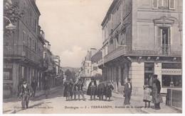24 Dordogne -  TERRASSON -  Avenue De La Gare - Autres Communes