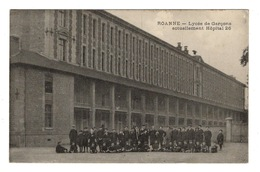 42 LOIRE - ROANNE Lycée De Garçons Actuellement Hôpital 26 - Roanne