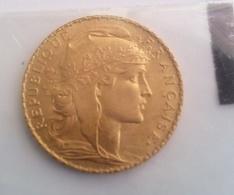 France 1914 10 Francs Or Marianne IIIe République 1914 Paris, Coq Superbe Liberté Egalité Fraternité Credit Du Nord - Frankreich