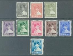 ROMANIA - 1928 - MH/*  - MICHEL I -  Yv 336-343  Mi 320-328 - Lot 19755 - 1918-1948 Ferdinand I., Charles II & Michel