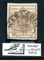 Mi. 4 Y MP III Gestempelt (PLATTENFEHLER) - Used Stamps