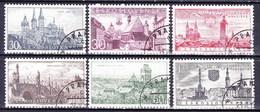 Tchécoslovaquie 1957 Mi 1002-7 (Yv 889-94), Obliteré - Used Stamps