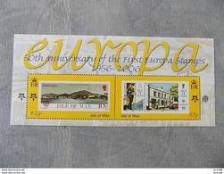 Feuillet Neuf Ile De Man (GB) 2006 : Cinquantenaire Du Timbre Europa - Europa-CEPT