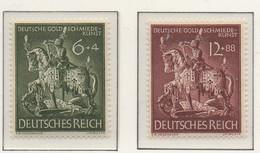 PIA - GER - 1944 : 11° Anniversario Della Società Di Oreficeria - Statua Di San Giorgio -   (Yv 779-80) - Scultura