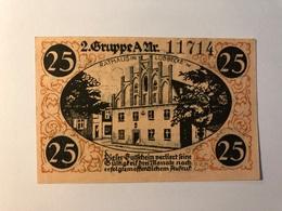 Allemagne Notgeld Lubeck 25 Pfennig - Collections