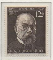 PIA - GERMANIA - 1944  : Centenario Della Nascita Del Dr. Robert Koch -  (Yv 783) - Malattie