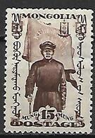 MONGOLIE      -    1932 .  Y&T N° 46 *.    Révolutionnaire  /  Drapeau.. - Mongolie