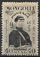 MONGOLIE      -    1932 .  Y&T N° 49 *.    Soukhe Bator - Mongolie