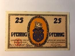 Allemagne Notgeld Luckenwalde 25 Pfennig - Collections