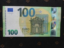 """100 EURO /2019 """" NA""""  N004 D5... Austria, DRAGHI,  UNC, NEUF, FDS - EURO"""