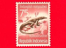 INDONESIA - Nuovo - 1959 - Campagna Di Protezione Degli Animali - Lucertole -  Varanus Komodoensis - 75 - Indonesia