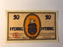 Allemagne Notgeld Luckenwalde 50 Pfennig - Collections