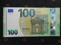 "100 EURO /2019 "" UC""  U002 D4... FRANCE, DRAGHI,  UNC, NEUF, FDS - EURO"