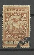 ECUADOR 1884/1885 Revenue Tax Stamp 2 C. O - Ecuador