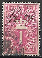 BAVIERE   -    1884  .  Timbre Fiscal Oblitéré - Bavaria