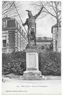 45 - GIEN (Loiret) - Statue De Vercingétorix - Collection L. Marchand, Sully Sur Loire N° 560 - Gien