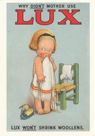 Postcard Advertising Lux Soap Artwork By Mabel Lucie Atwell [ Reproduction ] My Ref  B23662 - Advertising