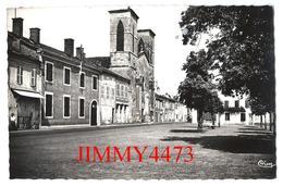 CPSM Dentelées - Place Des Tilleuls En 1952 - GRENADE SUR L'ADOUR ( Arr. De Mont De Marsan ) 40 Landes - Edit. COMBIER - Mont De Marsan