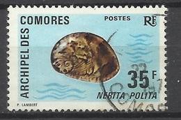 Comores  Poste N° 75 Oblitéré   B/ TB                   Soldé à Moins De 20 %   ! - Comoro Islands (1950-1975)