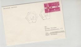 Porte-Avion Clemenceau 1-2-1963 Pour L'Allemagne - Postmark Collection (Covers)