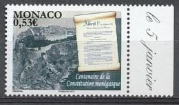 TIMBRE - MONACO - 2011 - Nr 2757 -  - Neuf - Monaco