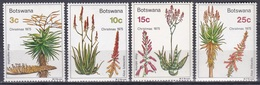 Botswana 1975 Religion Christentum Weihnachten Christmas Pflanzen Plants Sukkulenten Succulents Aloen, Mi. 143-6 ** - Botswana (1966-...)