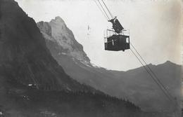 GRINDELWALD → Wetterhorn-Aufzug Mit Gletscher Anno 1938 - BE Bern