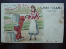 CPA - Écrémeuses Persoons - Thildonck Wespelaer - Brabant (Tildonk - Haacht) - Advertising
