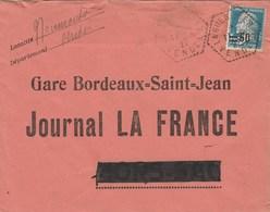 Hors-Sac : Cachet Hexagonal : - 1921-1960: Periodo Moderno